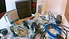 Huge Lot of Miscellaneous Cables, Modem, Connecters, Power Cables etc.