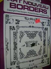 Dover Clip Art Art Nouveau Borders Book Copyright Free Designs
