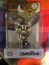 Amiibo Shovel Knight Gold Edition Figure Nintendo Switch SEALED MINT SOLD OUT