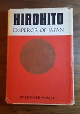 Hirohito,Emperor of Japan, Leonard Mosley,(1966), Prentice Hall,BMC