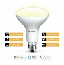 Merkury Innovations BR30 Smart Light Bulb, 65w Dimmable White LED, 1-Pack [LN]™