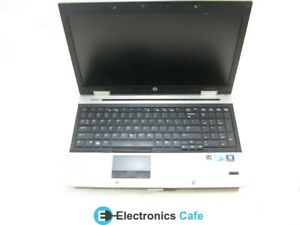 "HP EliteBook 8540p 15.6"" Laptop 2.53GHz i5-M 540 4GB RAM (Grade C No Battery)"