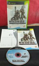Metal Gear Solid 2: Substance (Microsoft Xbox) VGC