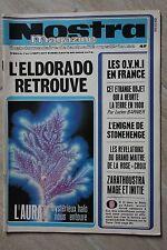 NOSTRA ACTUALITE INSOLITE N°283 SEPT 1977 / ELDORADO OVNI STONEHENGE AURA