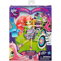 My Little Pony Equestria Girls Friendship Games Figure Archery Fluttershy Sealed