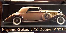 21X62 VERY RARE 1984 DOOR SIZE POSTER 1933 HISPANO SUIZA J 12 COUPE VERKERKE B7
