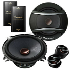 Audi A3 (8L) 96-03 Pioneer car speakers 130mm component front