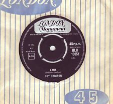 ROY ORBISON BLUE BAYOU 1963 ALSO LANA 1962 LONDON RECORDS