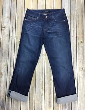 Joes Jeans Womens 26 Honey Kicker Cuffed Capri Stretch Mischa Denim