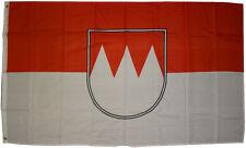 XXL Flagge Franken 250 x 150 cm mit 3 Metallösen Hissflagge Fahne FCN Sturmfahne