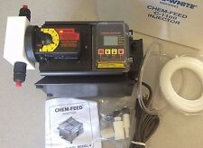 New Blue-White Chem-Feed C-1100 Injector Diaphragm Pump C-11V363X401VC2 WAS$1448