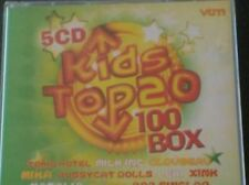 KIDS TOP 20 : 100 BOX (5 CD) Kate Ryan, Stan Van Samang