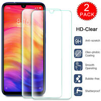 For Xiaomi Redmi Note 8 Pro Caseswill HD Clear Tempered Glass Screen Protector