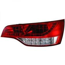 Back Rear Tail Lights Pair Set LED Clear Red White For Audi Q7 05-09