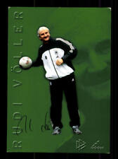 Rudi Völler DFB AUTOGRAFO carta 2002 Top +a60122 D