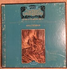Wagner/Gutterdammerung, the Ring Part IV, Wilhelm Furtwangler, 5 LP's Excellent