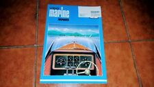 Brochure Catalogue Advertisement Marine Instruments VDO Boat Yacht French 1970