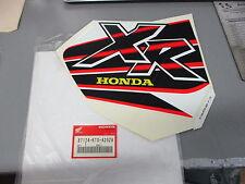 NOS Honda Left Mark Type 1 1999 XR200 XR200R 87124-KT0-A20ZA