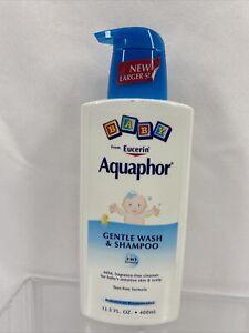 Eucerin Aquaphor Baby Gentle Wash & Shampoo 8.4oz Bottle
