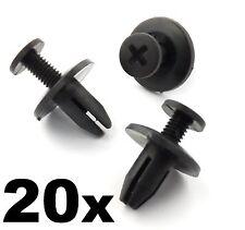 20x Honda 6mm Screw Fit Rivet- Interior Trim Clips for Cowls, Panels & Covers