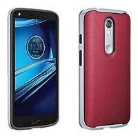 Verizon Bumper Hard Shell Case Durable Protection for Motorola Droid Turbo 2
