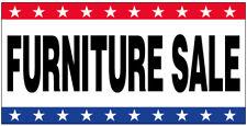 Furniture Sale Vinyl Banner Sign Stars wb - Multi Sizes