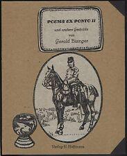 BISINGER Gedichte illustriert von Eva-Maria Geisler nummeriert und signiert.