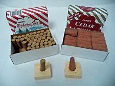 Paine's Balsam Fir 50 Sticks + Red Cedar Cones 50 Cones: 100 CHRISTMAS INCENCE