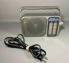 "Panasonic RF-2400 AM/FM AC/DC Portable Radio 4"" Speaker   WORKING   No Antenna"