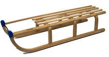 Schlitten Holz Colint 110 cm Davos Premium Holzschlitten Winter Rodel bis 180 kg