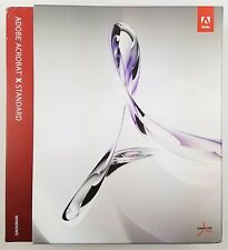 Adobe Acrobat X (10) Standard Std Windows Win Retail Box Deutsch PN: 65086163