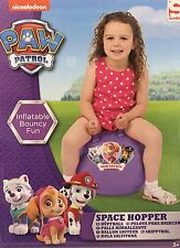 NEW PAW PATROL PLUM SPACE HOPPER KANGAROO BALL KIDS OUTDOOR FUN BEST GIFTS