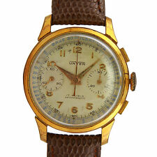 Vintage Unver (Universal Geneve) Chronograph Pulsometer Dial