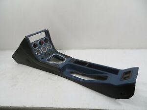 00 BMW Z3 M Roadster E36 #1145 Center Console, Complete Gauges Black/Blue Leathe