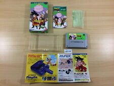 ub3164 Dragon Ball Z Super Butouden 3 BOXED SNES Super Famicom Japan