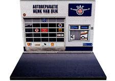 Diorama présentoir DAF - Autoreparatie Henk Van Dijk - 1/43ème - #43-2-A-A-050