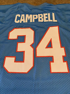 Earl Campbell HOUSTON OILERS Jersey #34 2XL/54