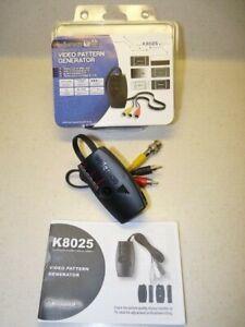 CCTV Video Pattern Generator by Velleman model: 8025 - Monochrome