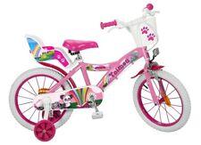 12 14 16 ZOLL Kinderfahrrad Mädchenfahrrad Kinder Kinderrad Fahrrad Rad Bike