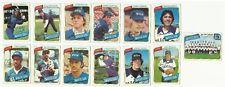 VINTAGE 1980 TOPPS MAJOR LEAGUE BASEBALL CARDS – CHICAGO WHITE SOX – MLB