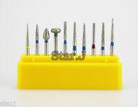 20PCS Dental Diamond High Speed Handpiece Burs Set for Porcelain Teeth 10PCS/Box