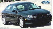 1996/1997/1998 Ford TAURUS SHO SPEC SHEET / Brochure
