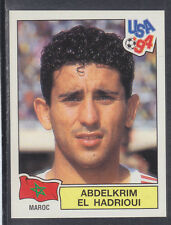 Panini - USA 94 World Cup - # 376 Abdelkrim El Hadrioui - Maroc (Green Back)