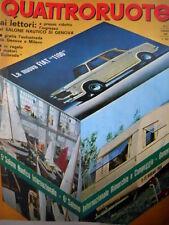 Quattroruote 122 1966 Nuova Fiat 1100. Alfa Romeo e le corse. NSU Prinz 1000 Q76