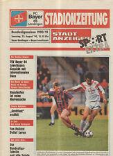 BL 90/91 Bayer 05 Uerdingen - Bayer 04 Leverkusen