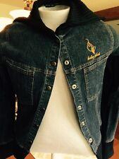 Womens Jacket Baby Phat Womens LADIES Bomber Denim REALLY NICE XL