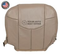 2002 Chevy Avalanche 1500, 2500 LT, LS Passenger Bottom Leather Seat Cover Tan