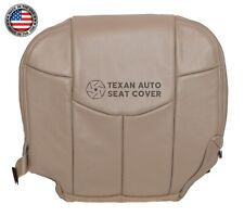 2002 Chevy Avalanche 1500, 2500 LS, Z71, 2WD Driver Bottom Vinyl Seat Cover Tan