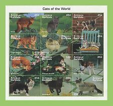 Cats Antiguan & Barbudan Stamps (Pre-1981)