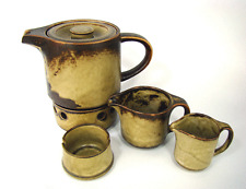 60er Tea Service Sahara Suisse Langenthal Mid-Century Tea Set Switzerland 1960´s